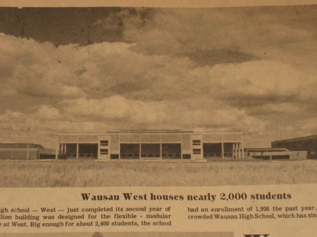 News Paper article on wausau west