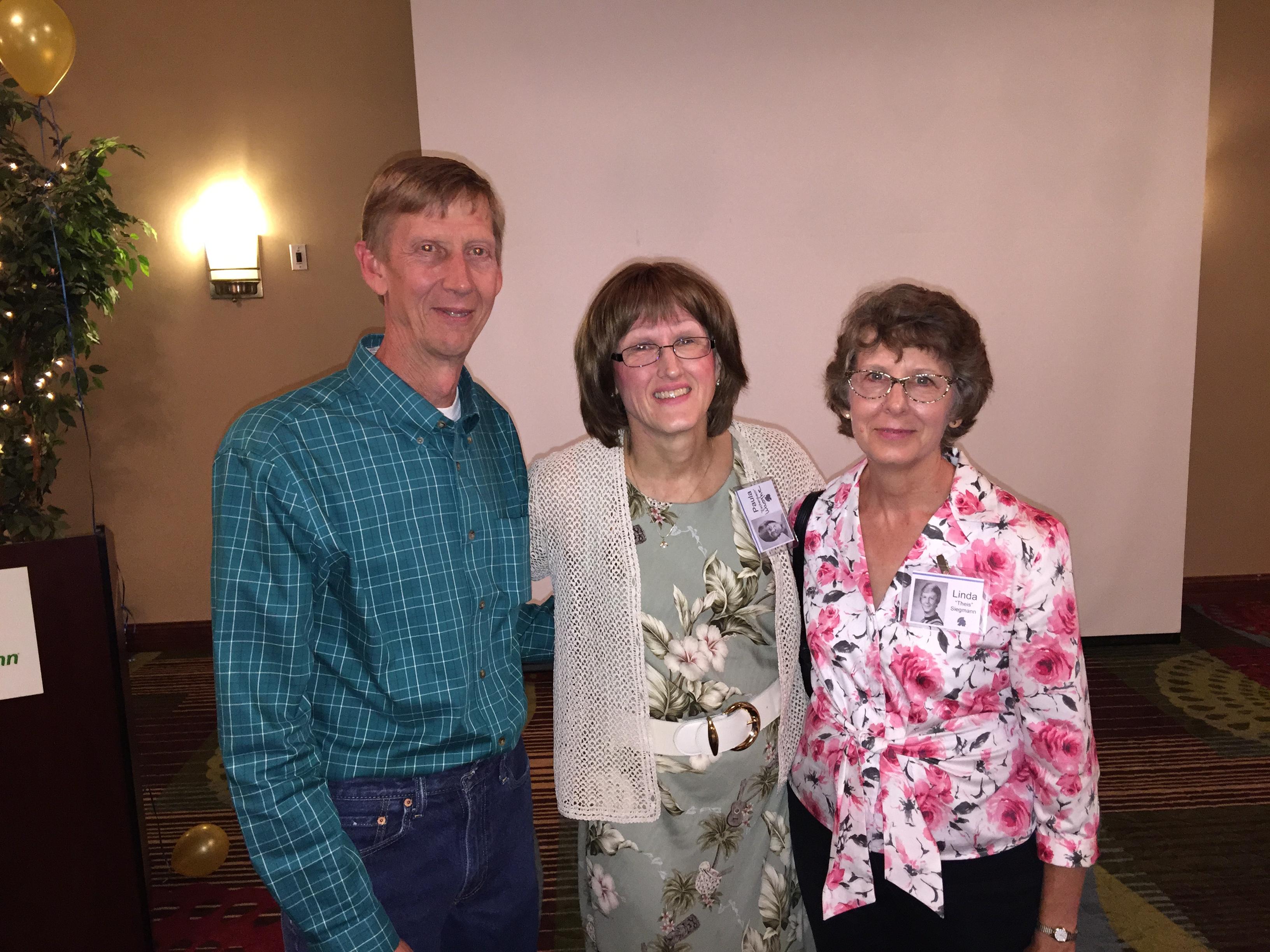 Dan Abraham, Paula Eschenbach, Linda Thies