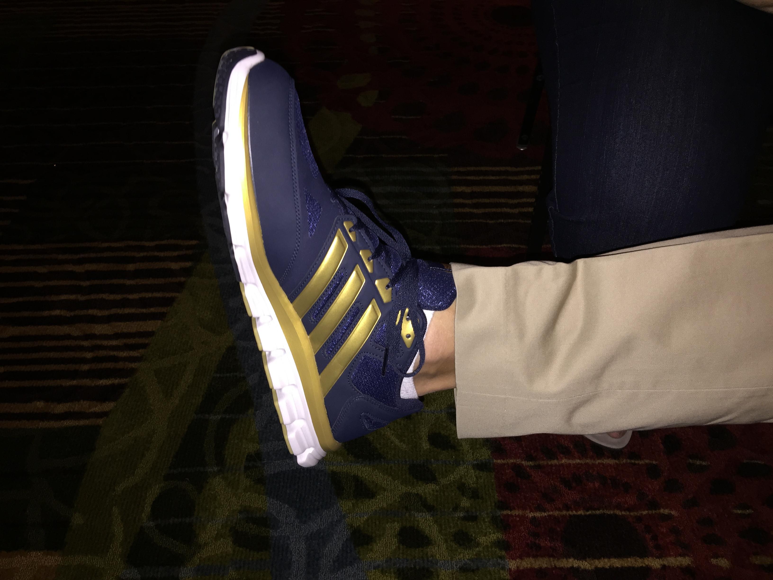 Jay Obey's shoe